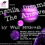 Priscilla Dreams The Answer Staged Reading